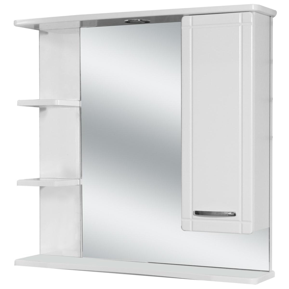 Шкаф зеркальный «Рома», 75 см