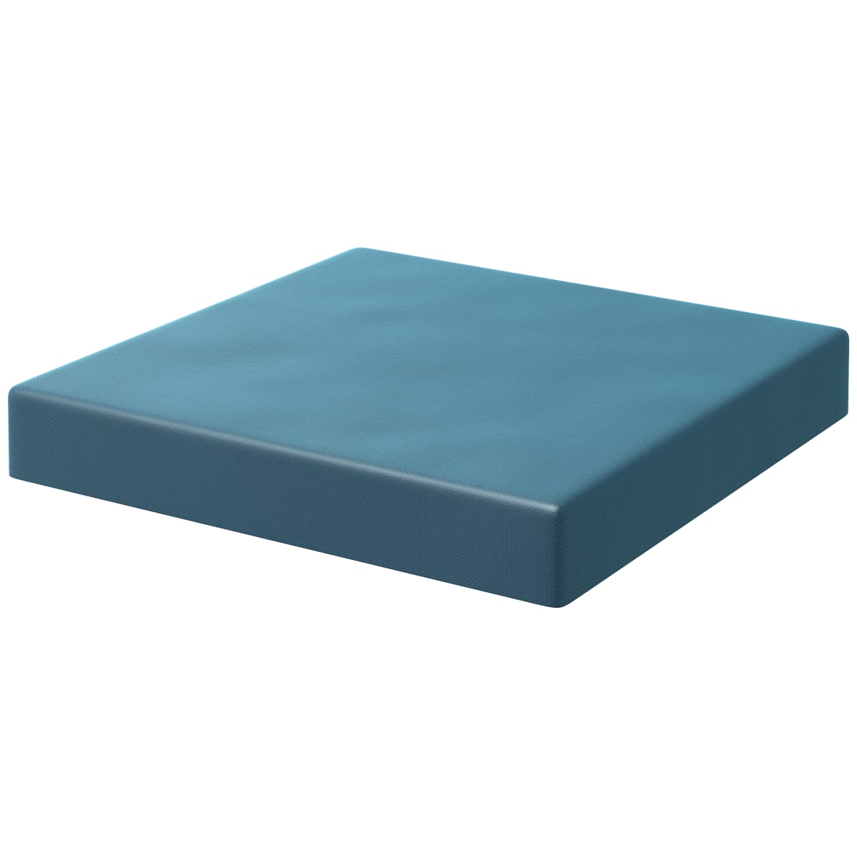 Подушка на сиденье Spaceo Kub Miami 34х38 см цвет морской волны