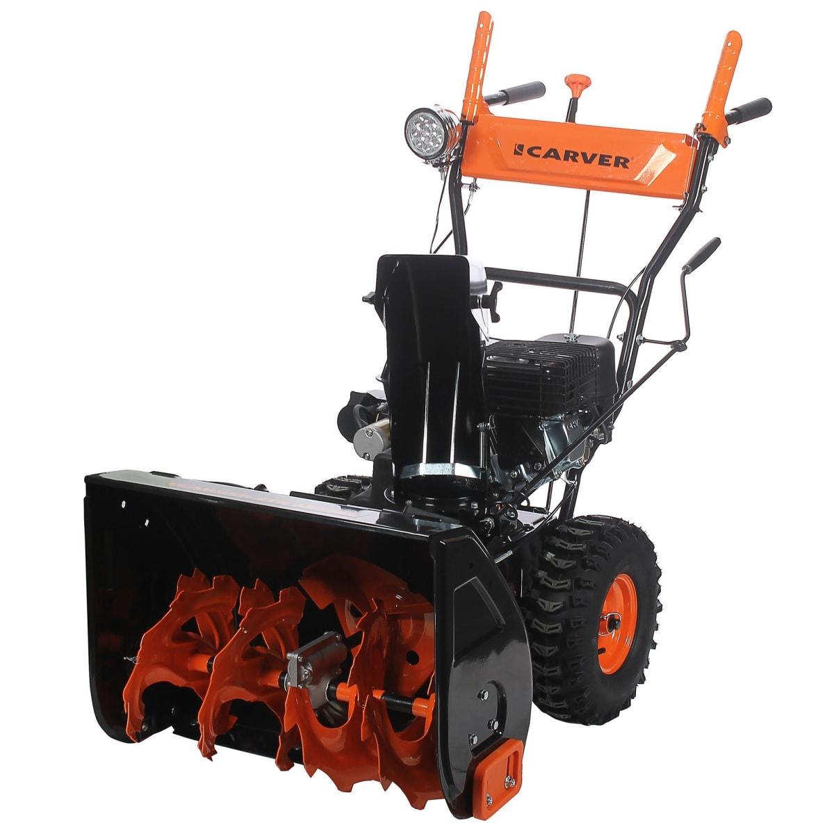 Снегоуборщик бензиновый Carver STG 6561EL, 610 мм