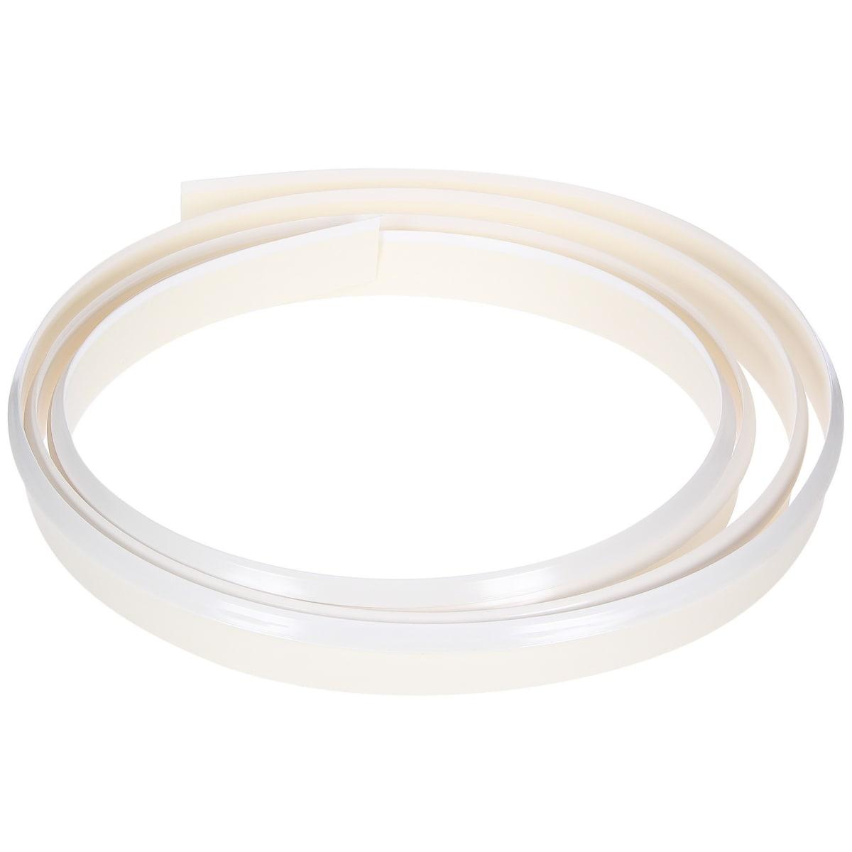Профиль пристенный гибкий, 320 см, пластик, цвет белый