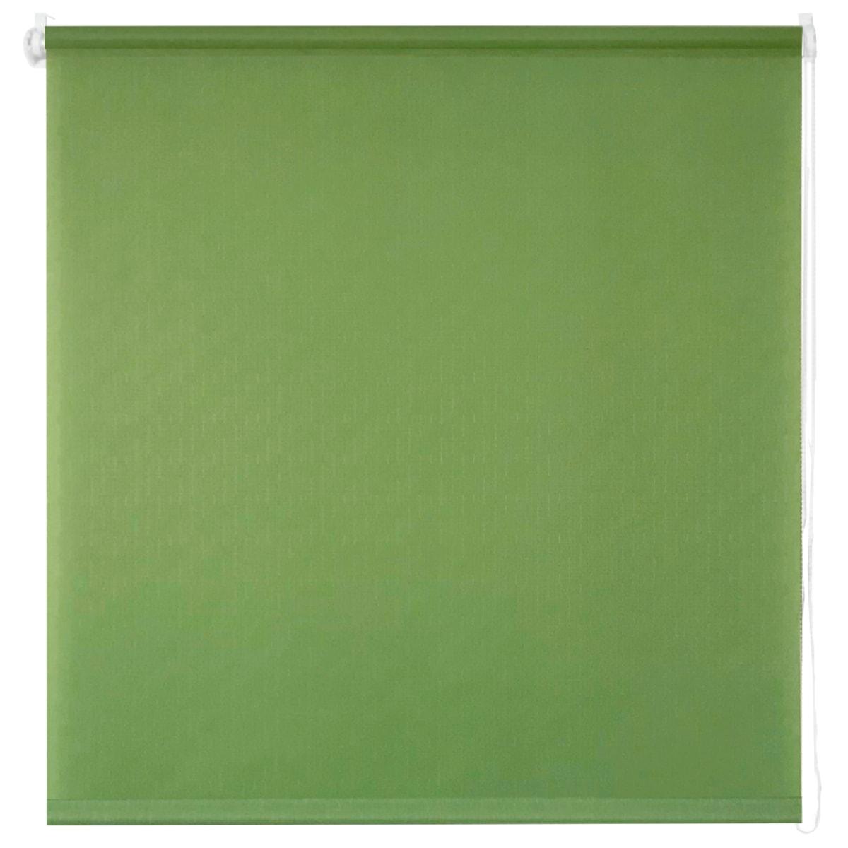 Штора рулонная Inspire «Шантунг», 80х160 см, цвет зелёный