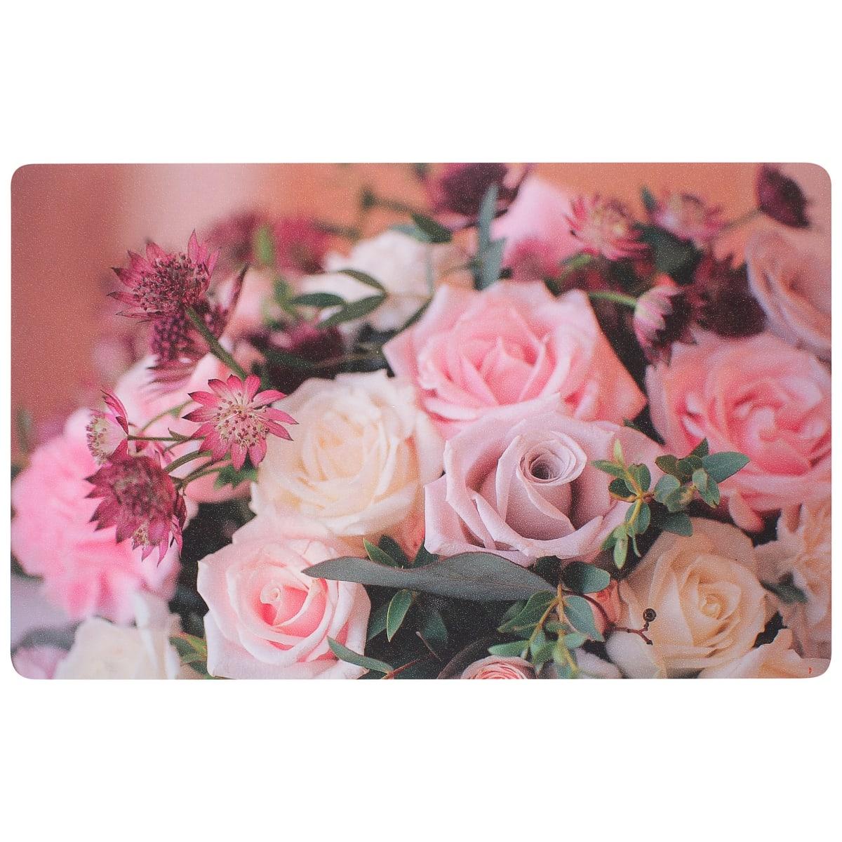 Салфетка «Весенний букет» 26х41 см, ПВХ