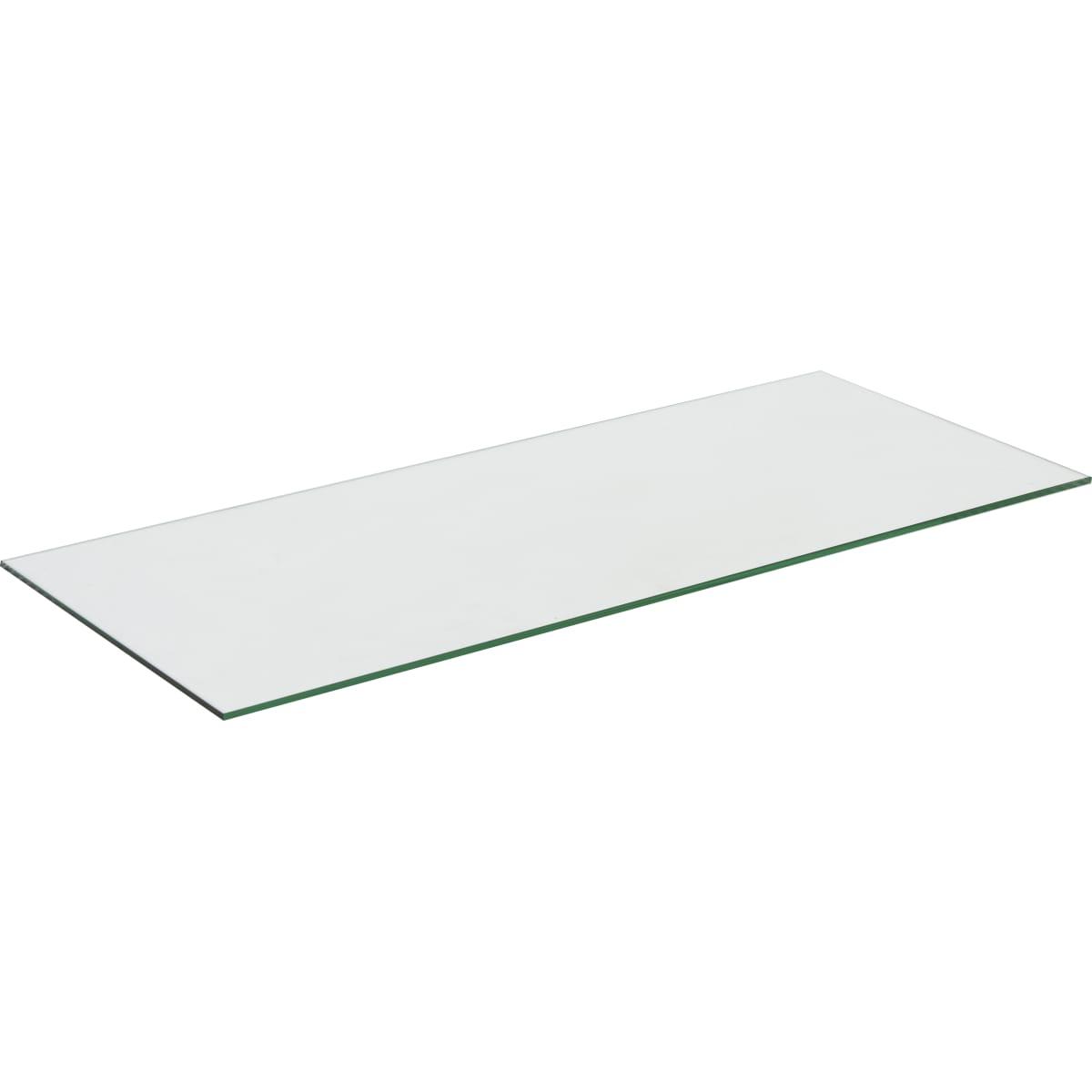 Полка 75.8x0.6x32, стекло, цвет прозрачный