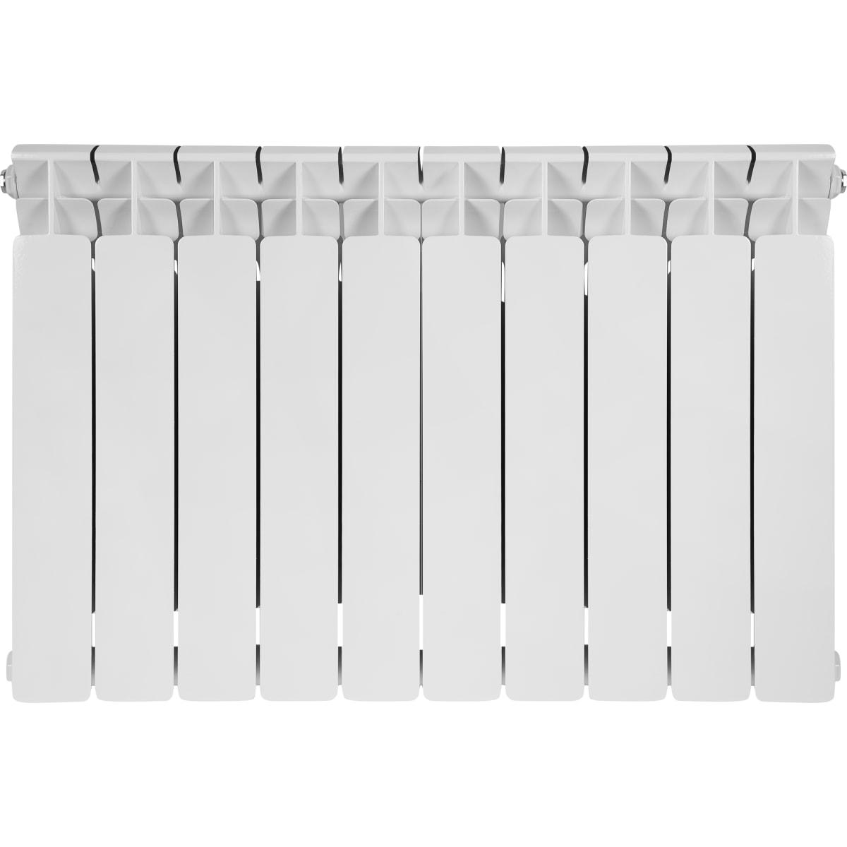 Радиатор Rifar В500, 10 секций, нижнее подключение, 500 мм, биметалл