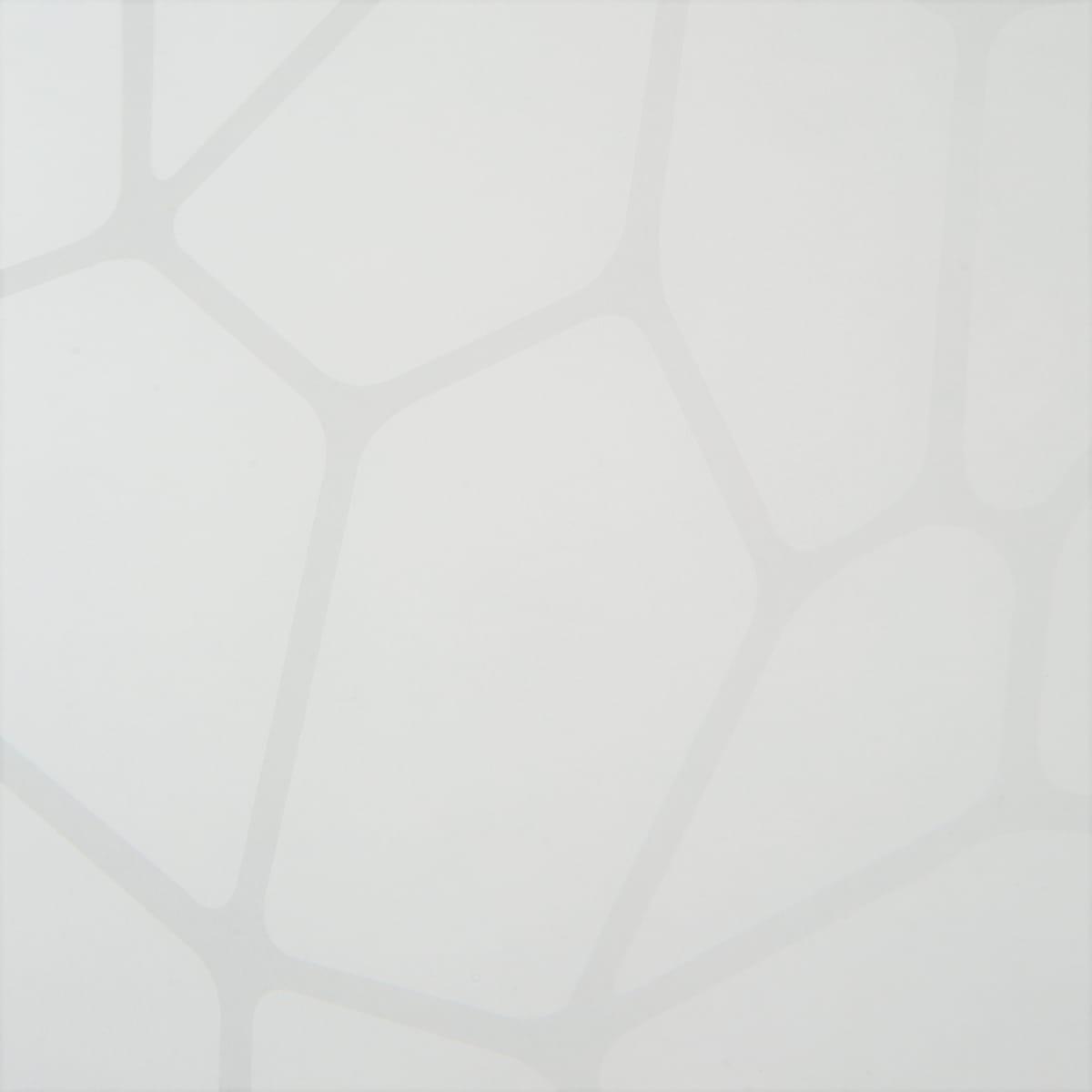 Стеновая панель «Абстракция», 240х60х0.4 см, МДФ, цвет белый