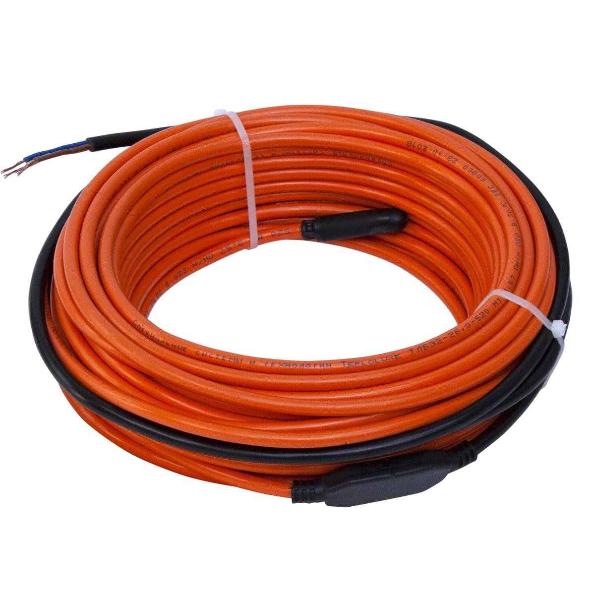 Нагревательный кабель для тёплого пола Теплолюкс 13 м, 190 Вт
