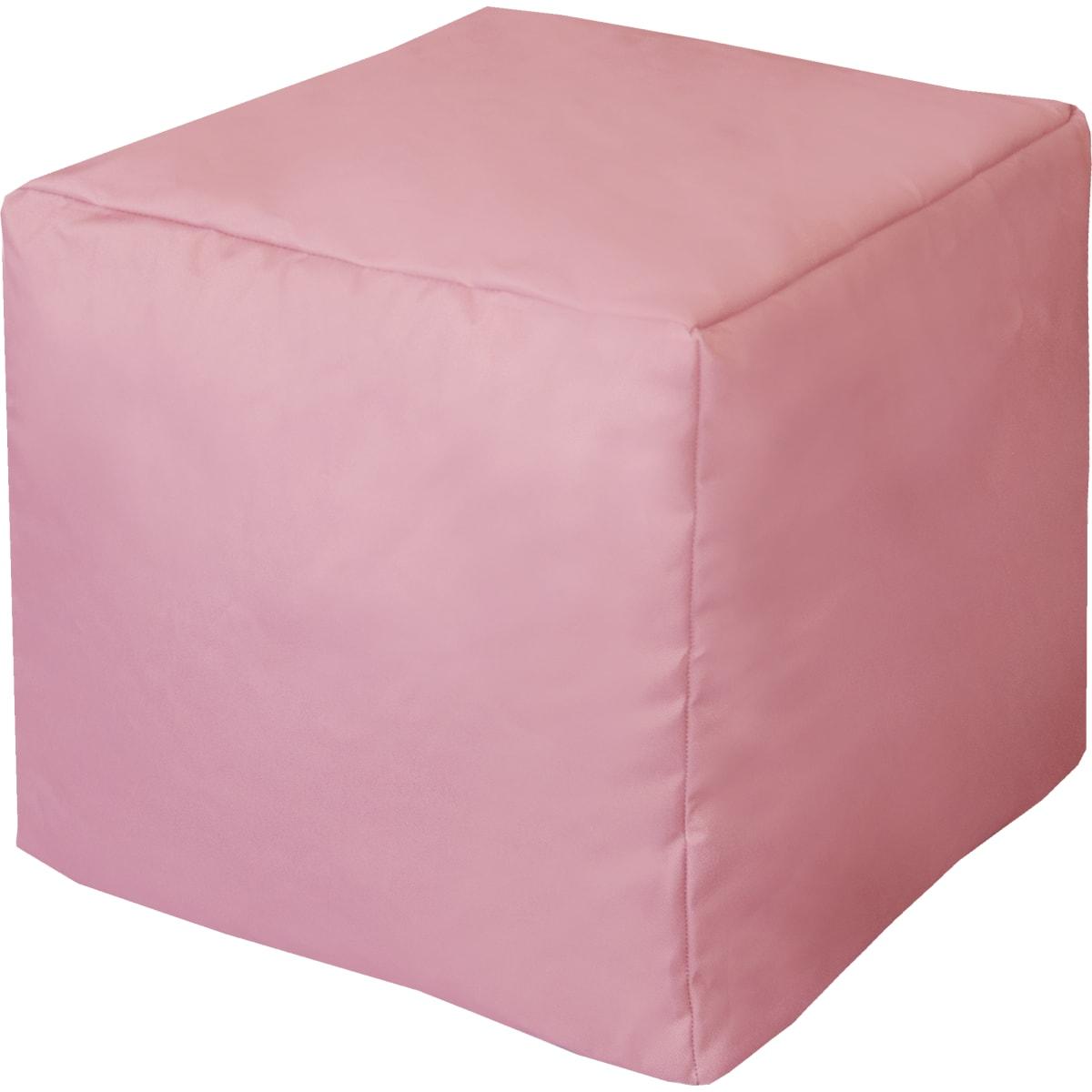 Пуф «Куб», 40х40х40 см, цвет розовый
