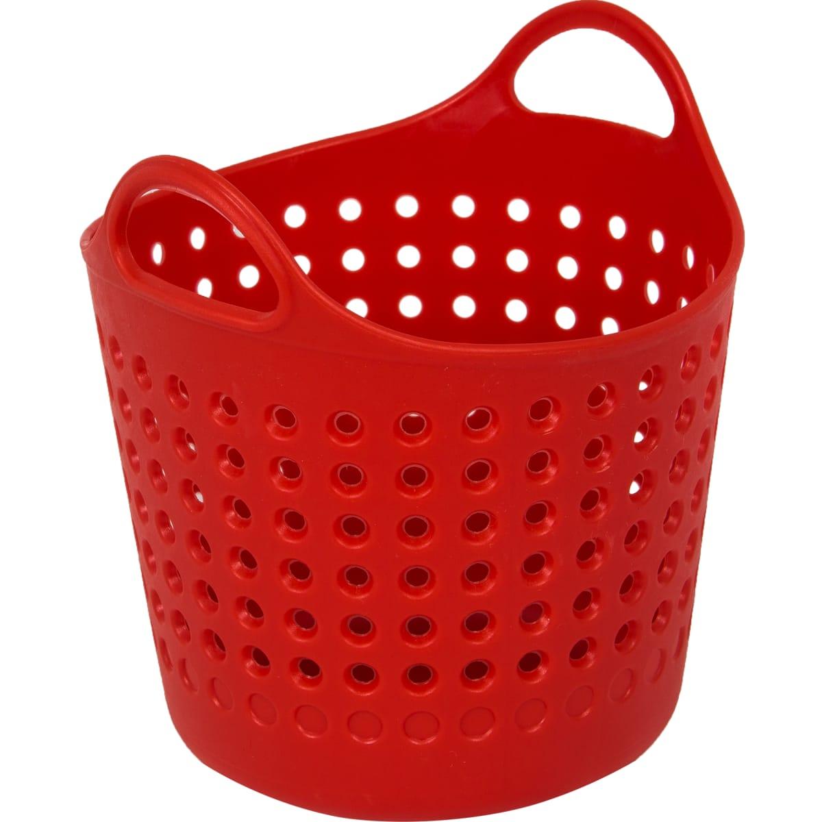 Корзинка для мелочей, цвет красный