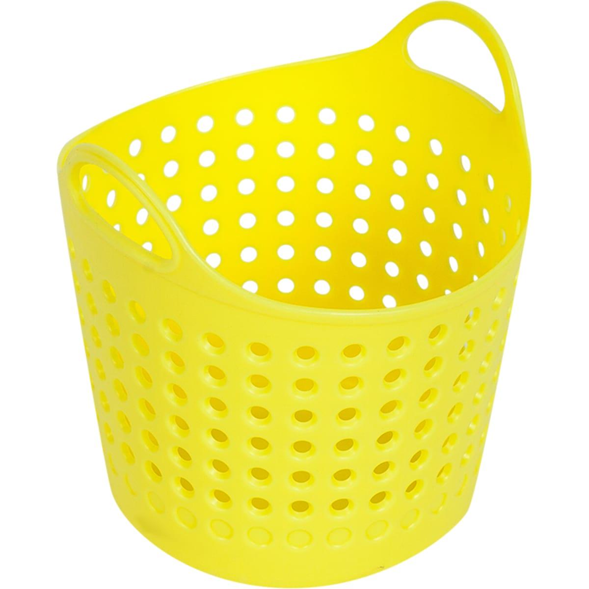Корзинка для мелочей, цвет желтый