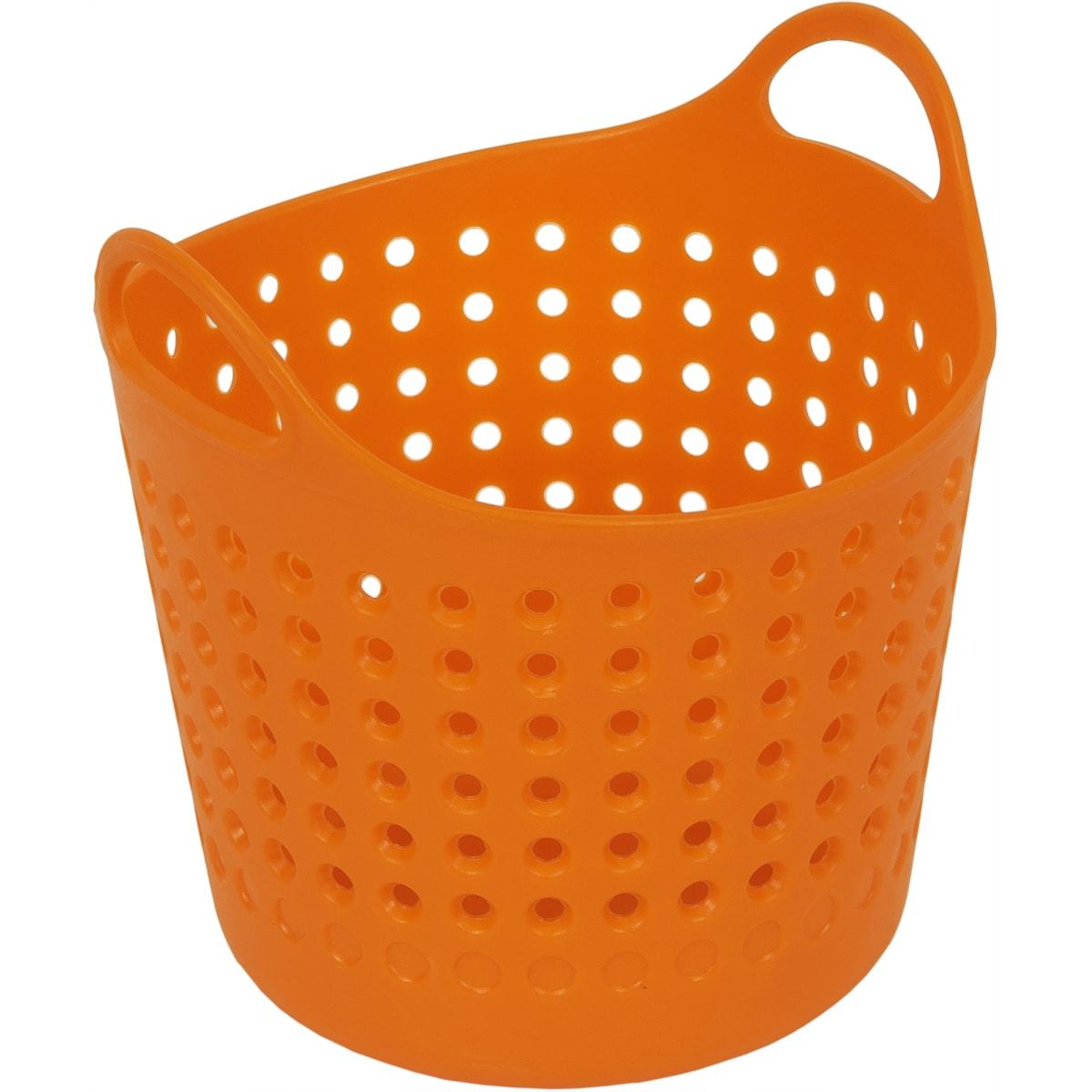 Корзинка для мелочей, цвет мандарин