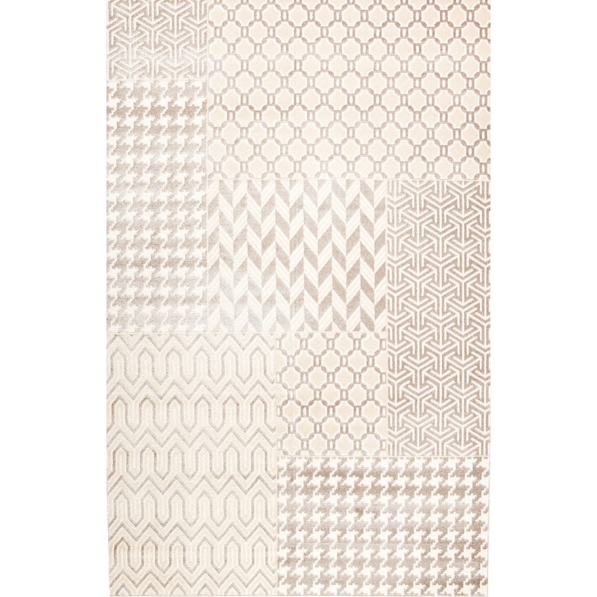 Ковёр Reflex 40151/67, 1.2х1.7 м, цвет серый
