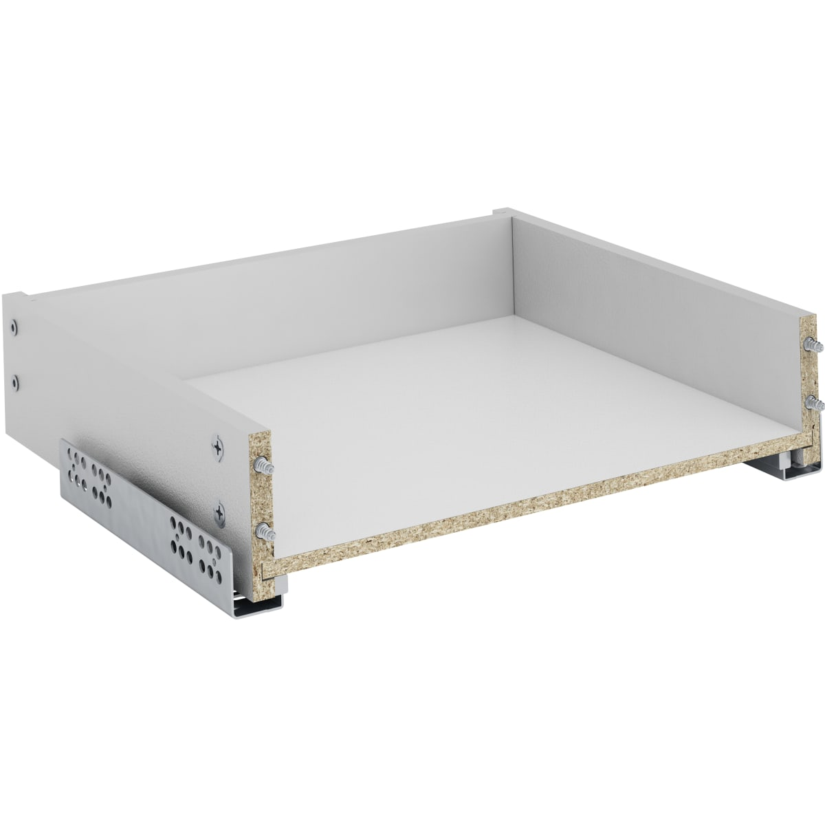 Ящик для навесного каркаса Delinia 35.2x8.1x31.1 см, ЛДСП