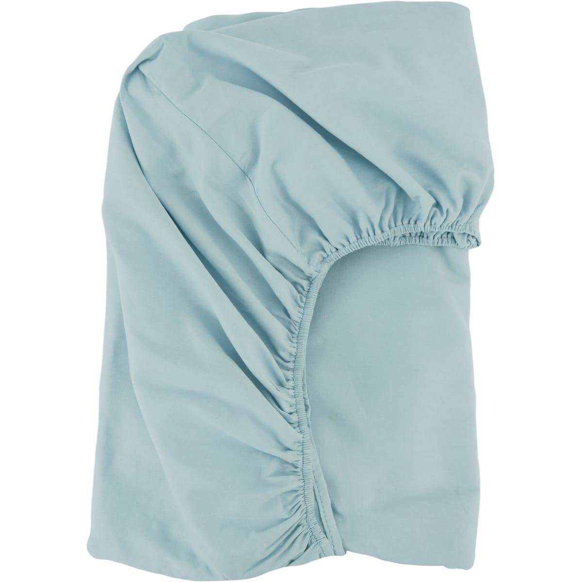 Простыня на резинке Helen Satin «Sky 67», 140х200 см, сатин, цвет светло-голубой