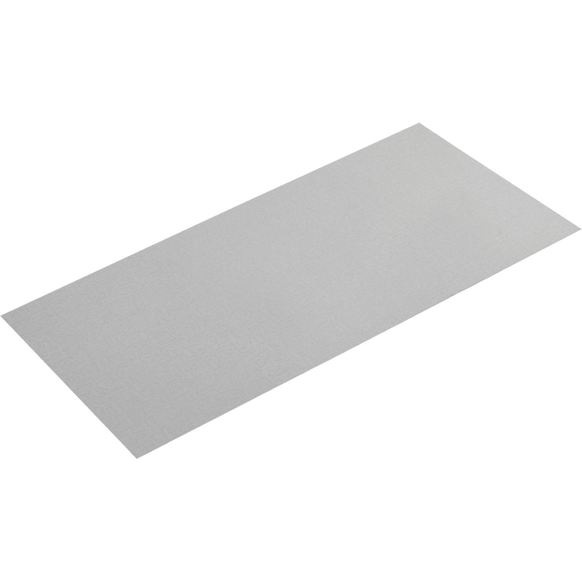 Лист рифлёный «кожа» Aisi 430 0.5х300х600 мм, нержавеющая сталь