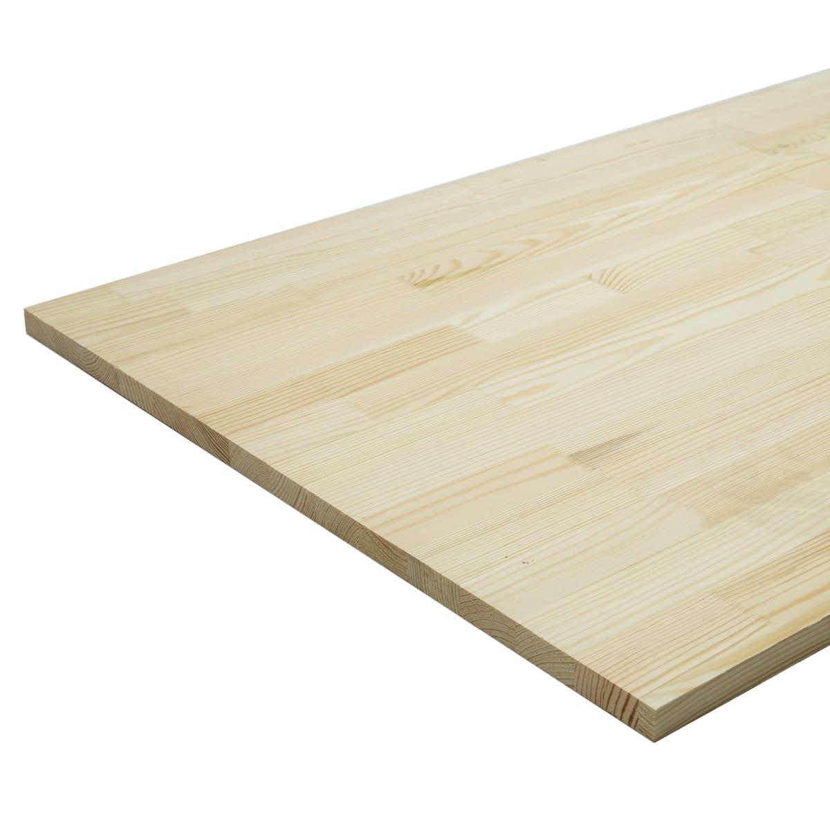 Мебельный щит 2000х600х18 мм сосна, сорт Экстра