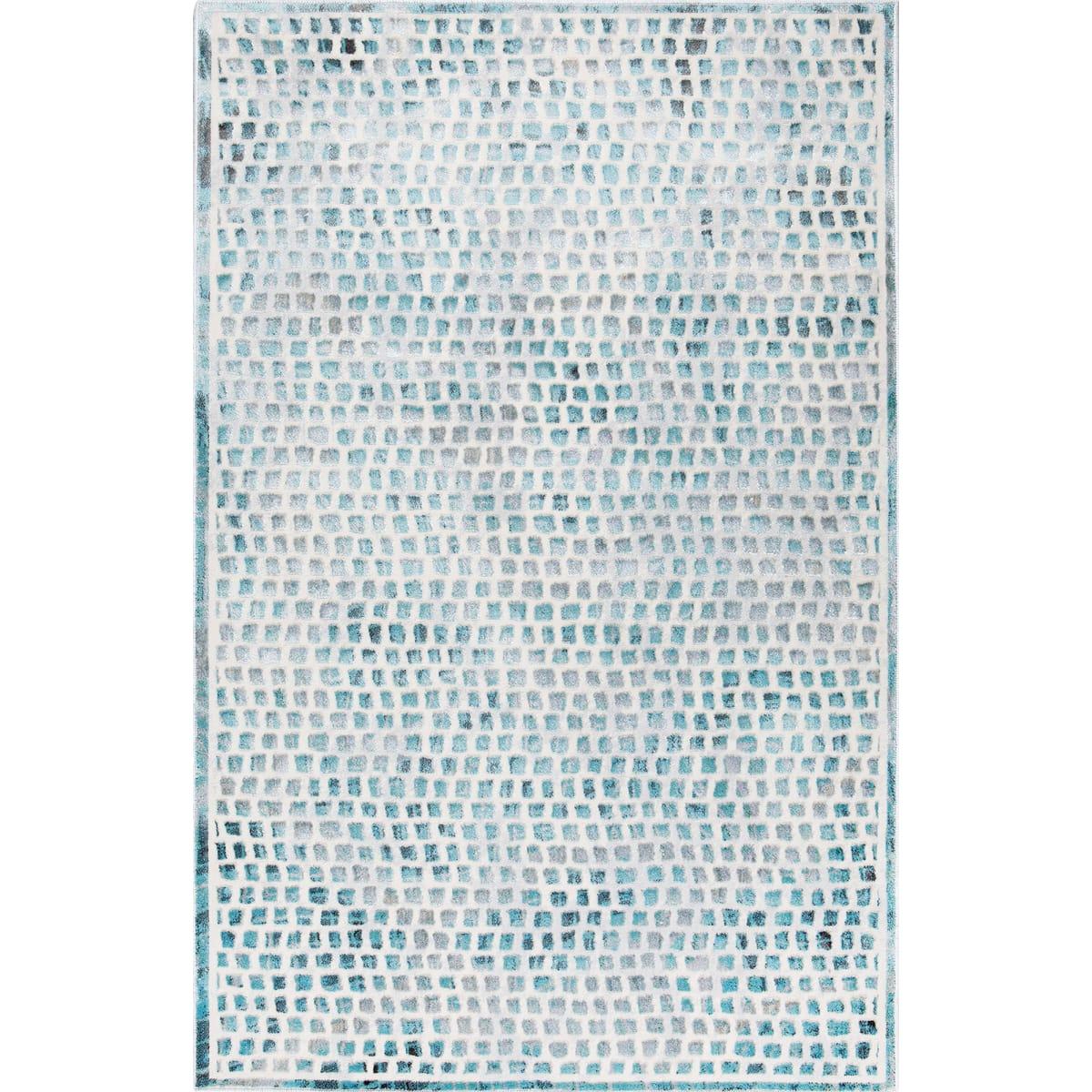 Ковёр «Эрин» 509Q, 1.2х1.8 м, цвет бирюзовый