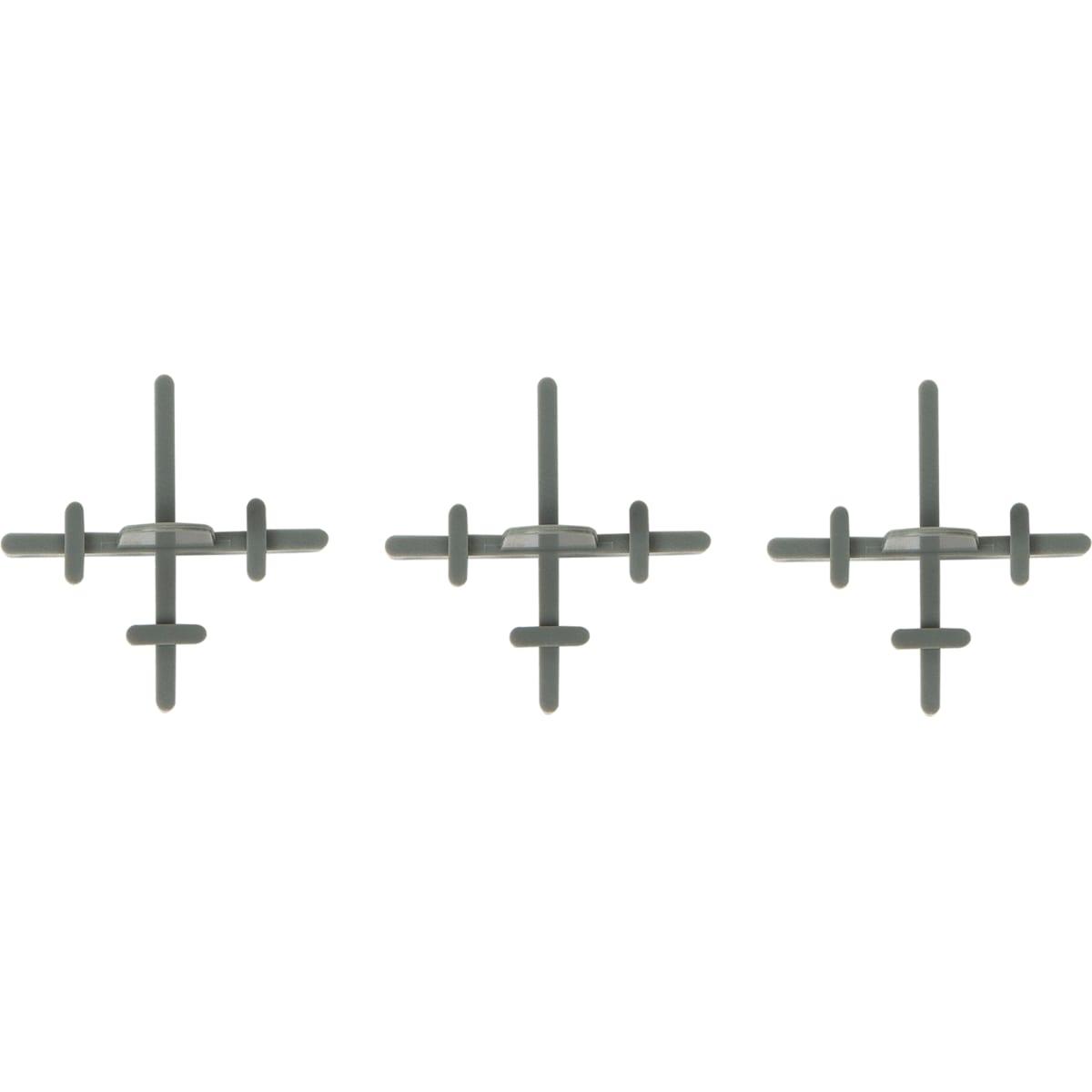Крестики многоразовые с держателем, 2.0 мм, 70 шт.