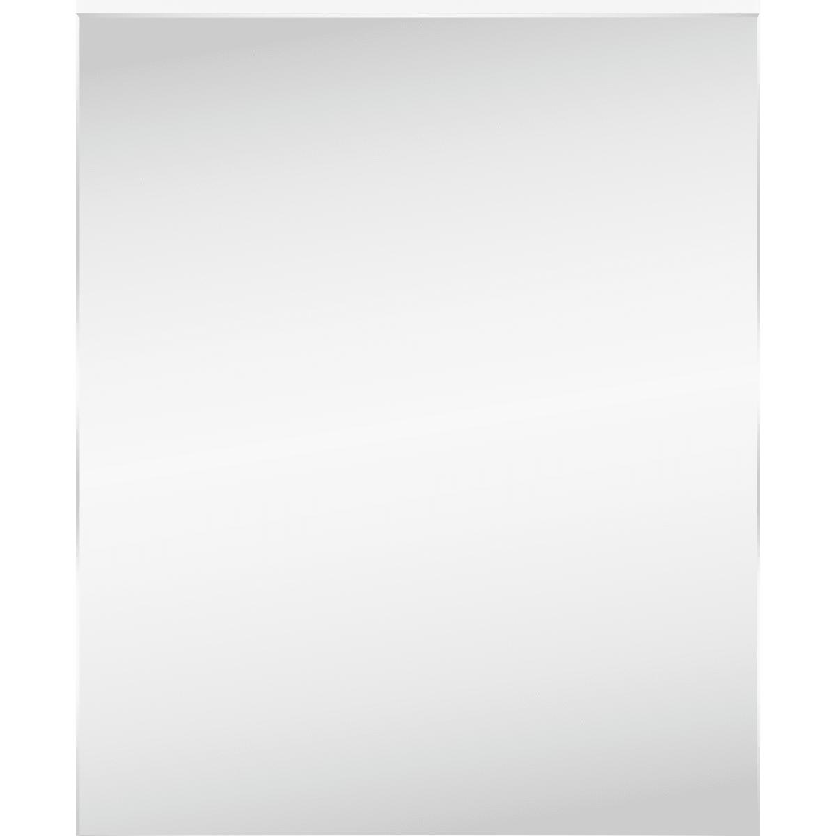 Шкаф зеркальный «Руан-60» 60х75 см цвет белый