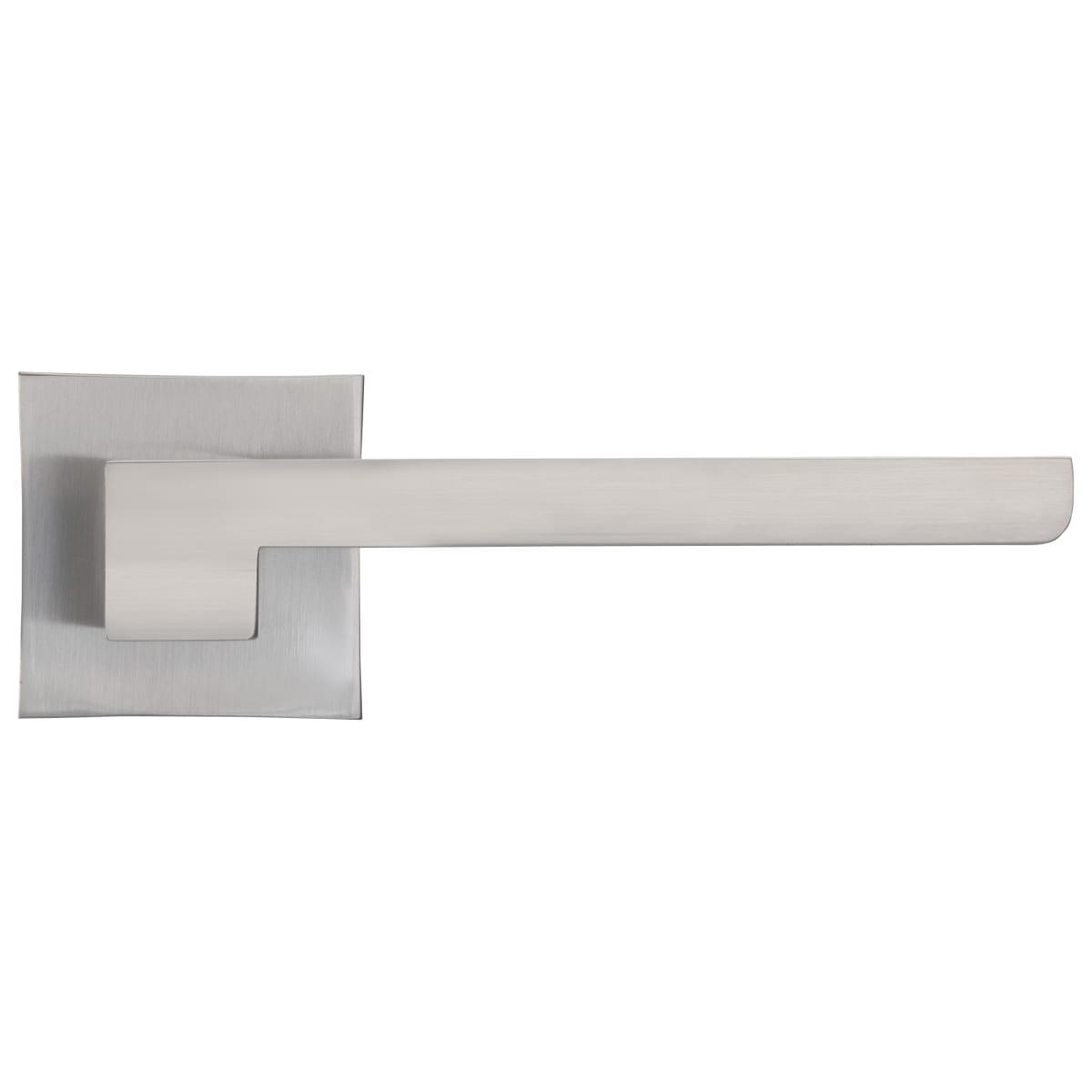 Дверная ручка Manuela, без запирания, комплект, цвет никель