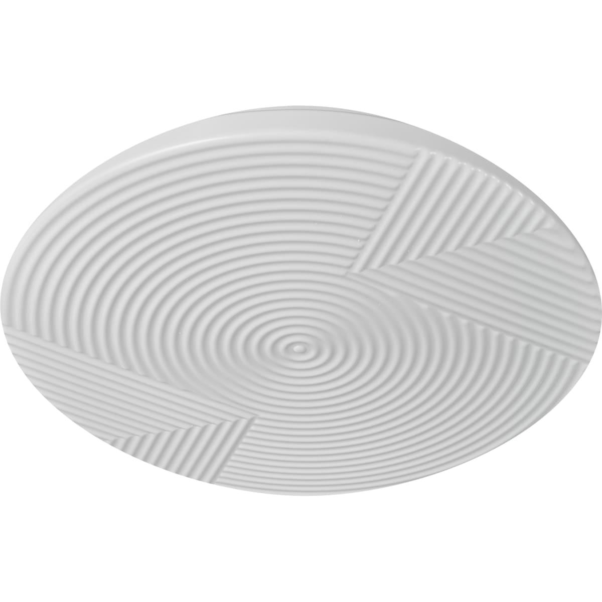 Светильник настенно-потолочный светодиодный Messa 2083/EL с пультом управления, 18 м², регулируемый свет, цвет белый