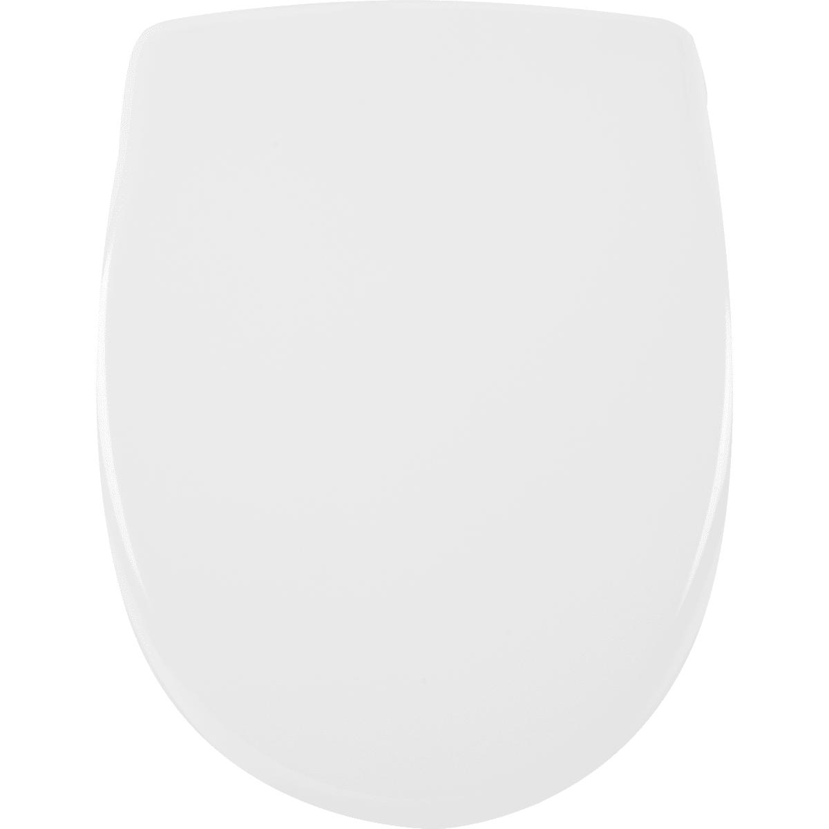Сиденье для унитаза «Лондон» дюропласт, микролифт, цвет белый