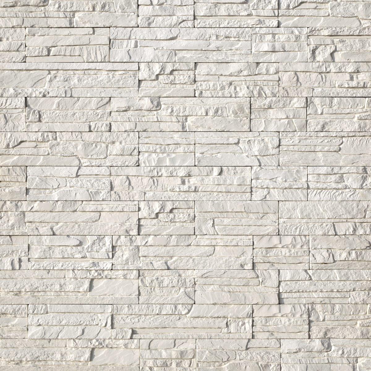 Плитка декоративная Хайлэнд, цвет белый, 0.43 м²