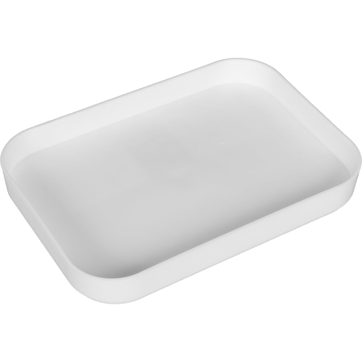 Крышка малая, 113x21x159 мм, пластик, цвет белый