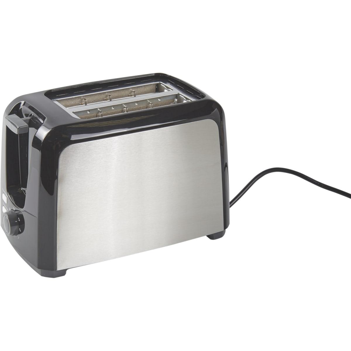 Тостер Centek CT-1429 750 Вт, цвет хром/чёрный