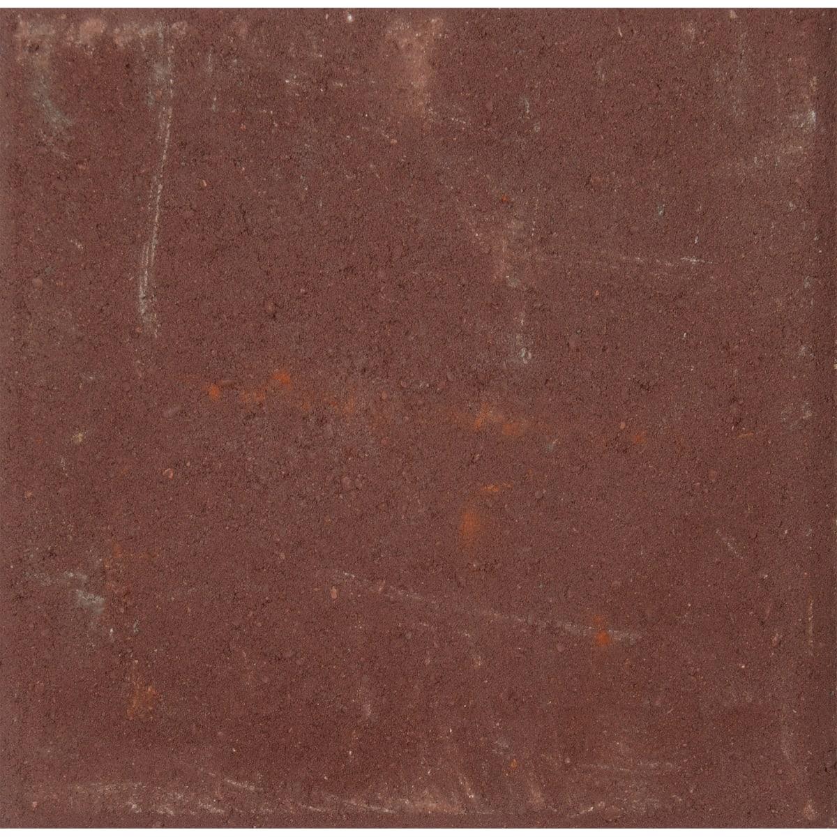 Плитка тротуарная вибропрессованная, 300x300x60 мм, цвет красный