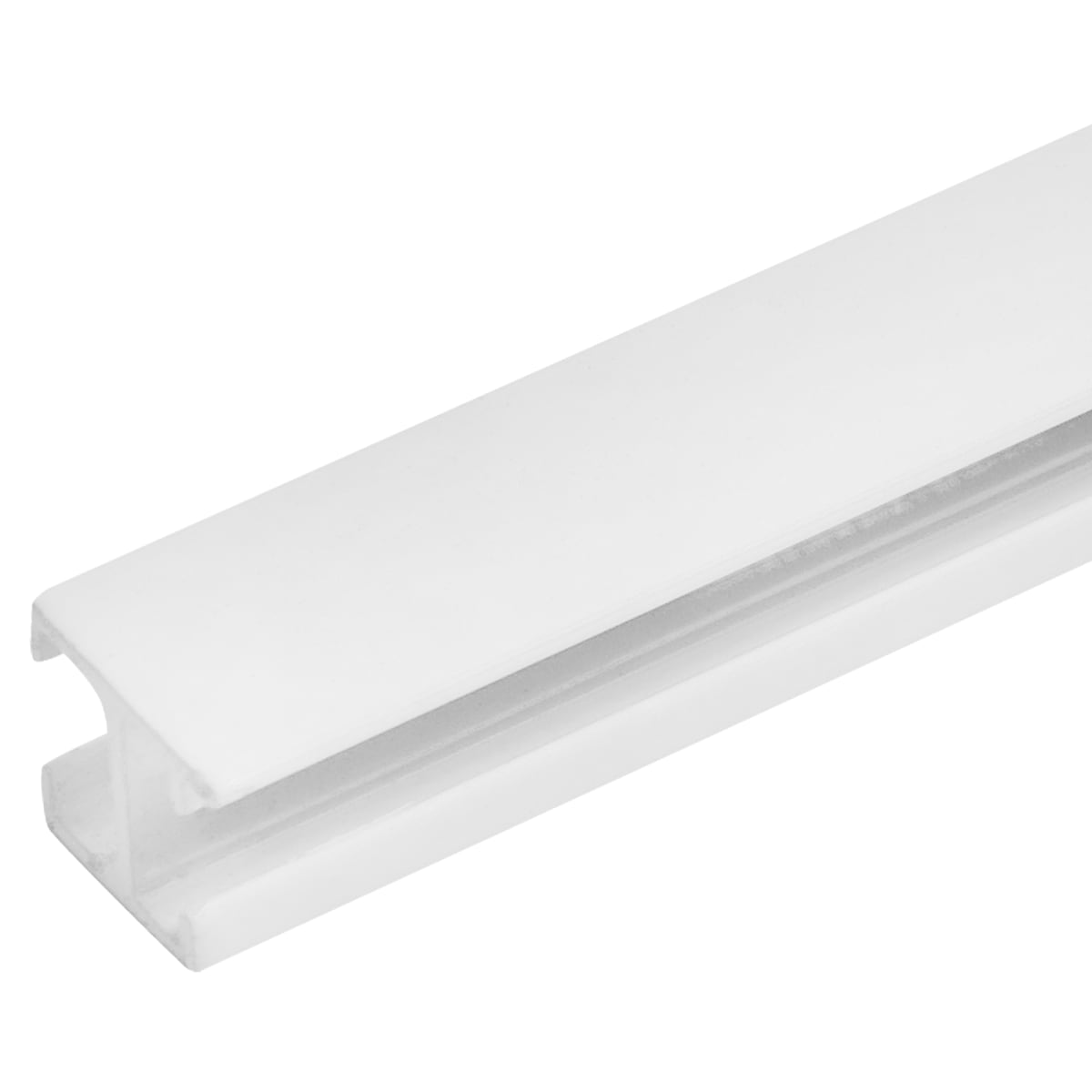 Карниз шинный однорядный Atlant Mini, 200 см, алюминий, цвет белый