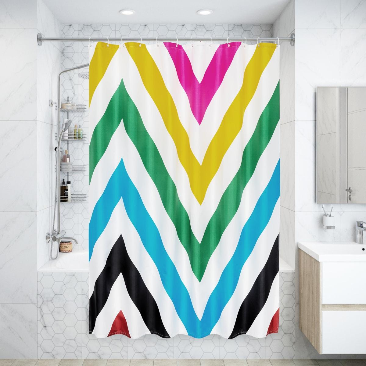 Штора для ванны Twist 180x200 см, полиэстер