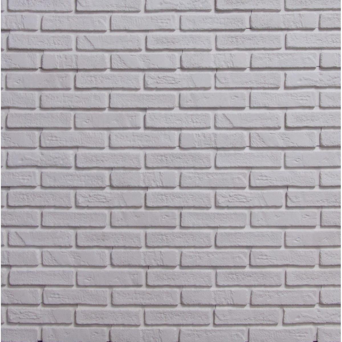 Декоративная плитка ЙоркБрик 0.55 м² белый