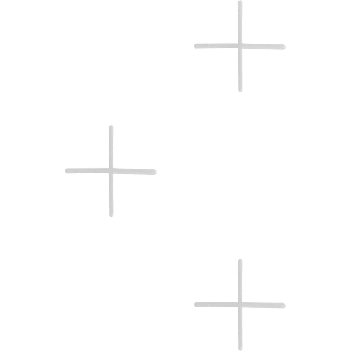 Крестики для кафельной плитки, 1 мм, 200 шт.
