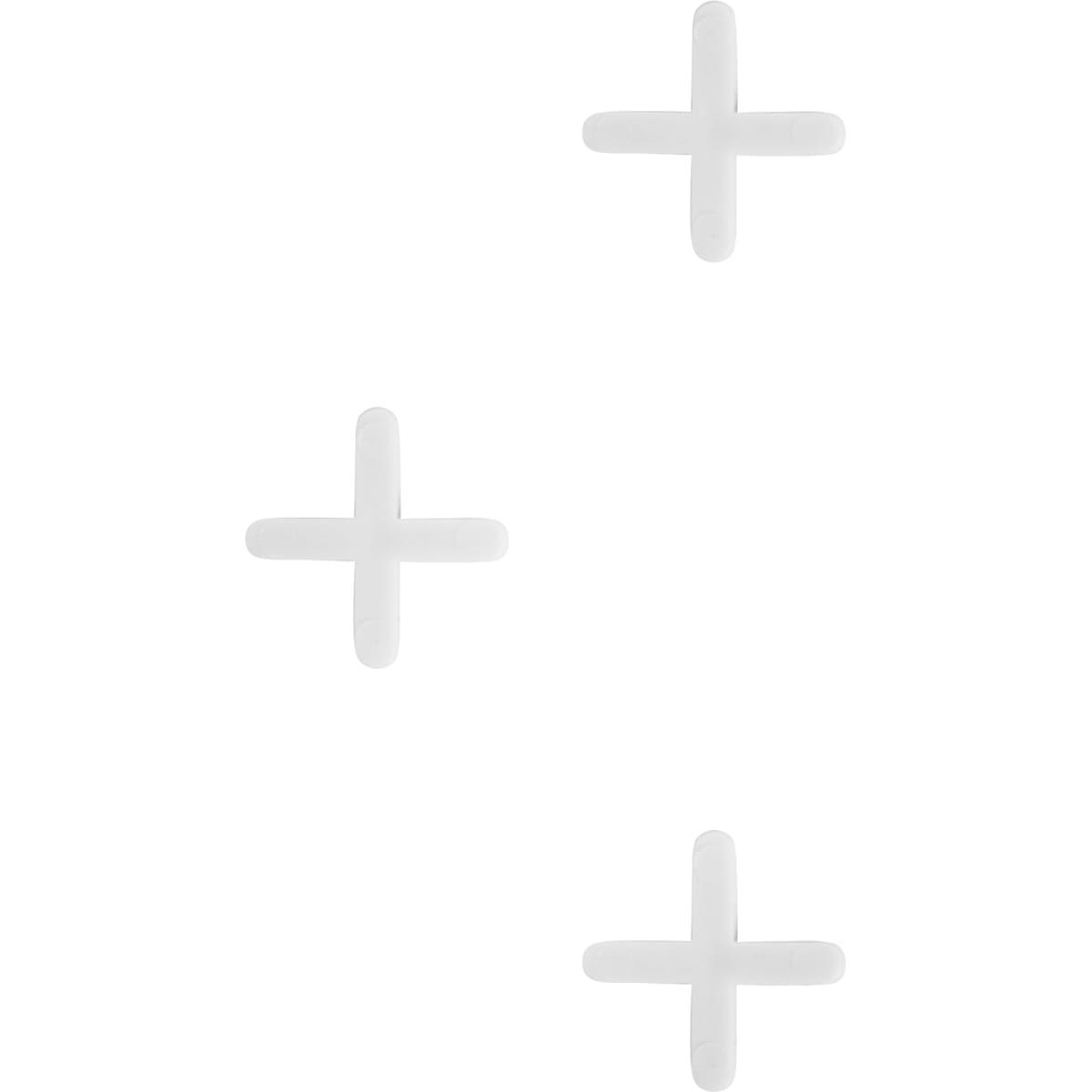 Крестики для кафельной плитки, 4 мм, 100 шт.