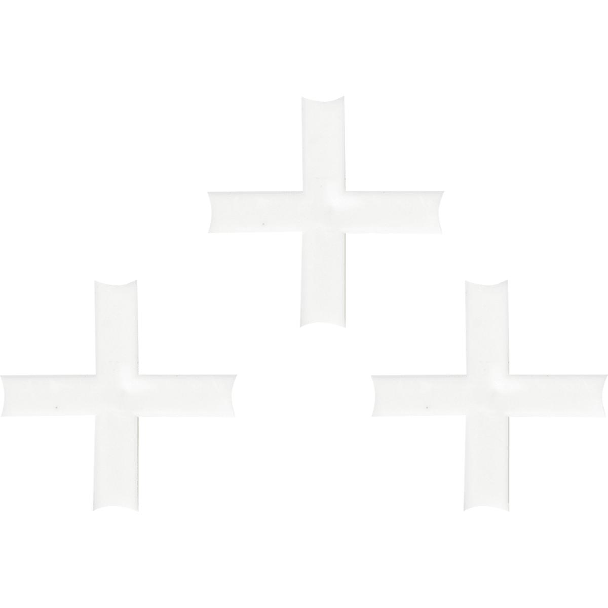 Крестики для кафельной плитки, 3.5 мм, 100 шт.