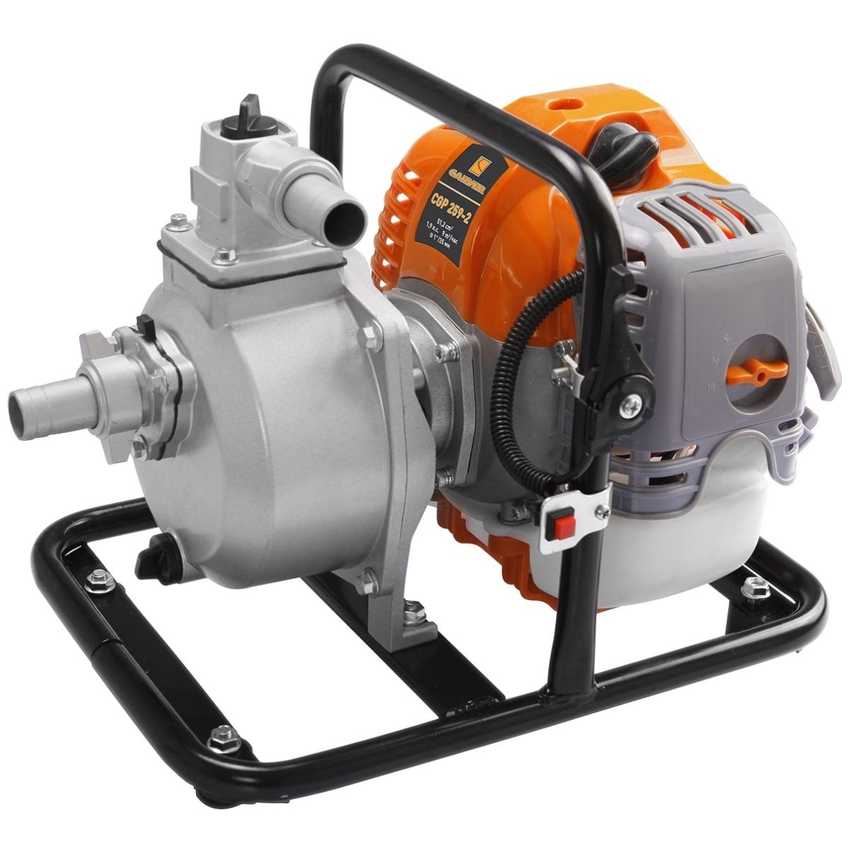 Мотопомпа Carver 2T CGP 259-2, 9000 л/час