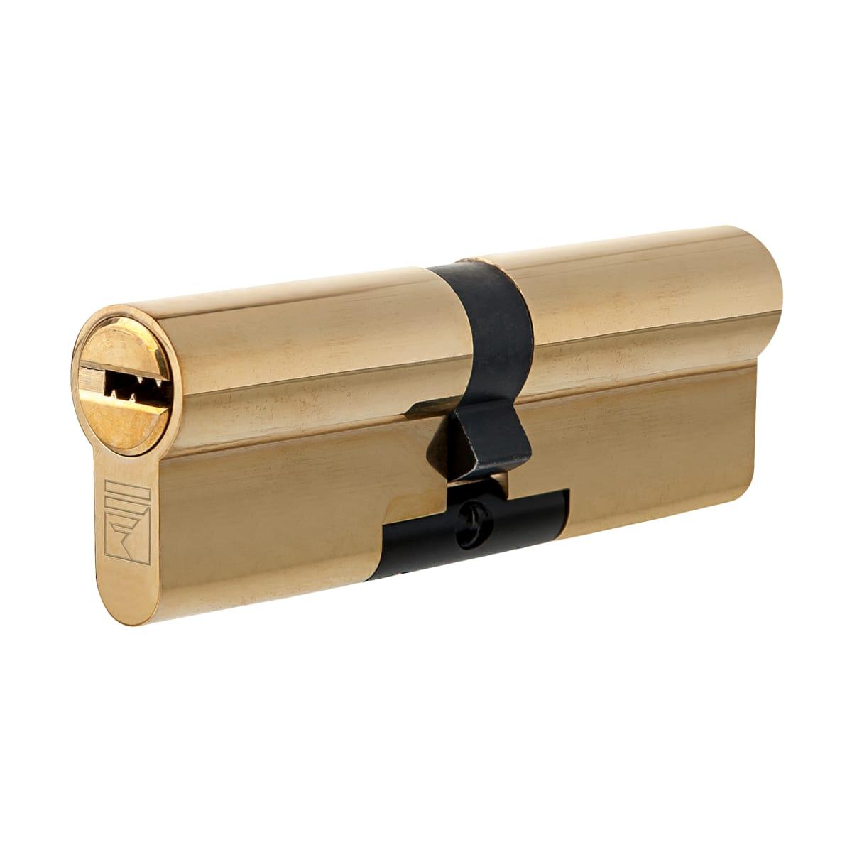 Цилиндр Apecs Premier XR-80-G, 40x40 мм, ключ/ключ, цвет золото