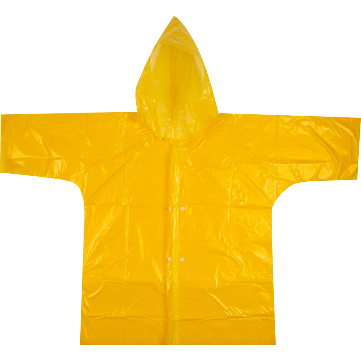 Плащ-дождевик детский, цвет желтый