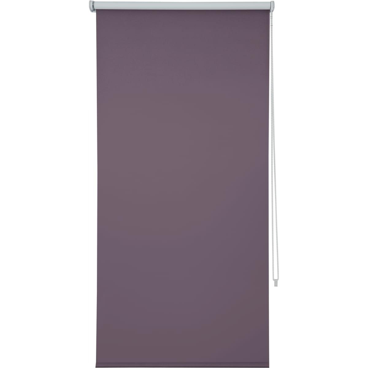 Штора рулонная Inspire блэкаут 50x160 см цвет сиреневый