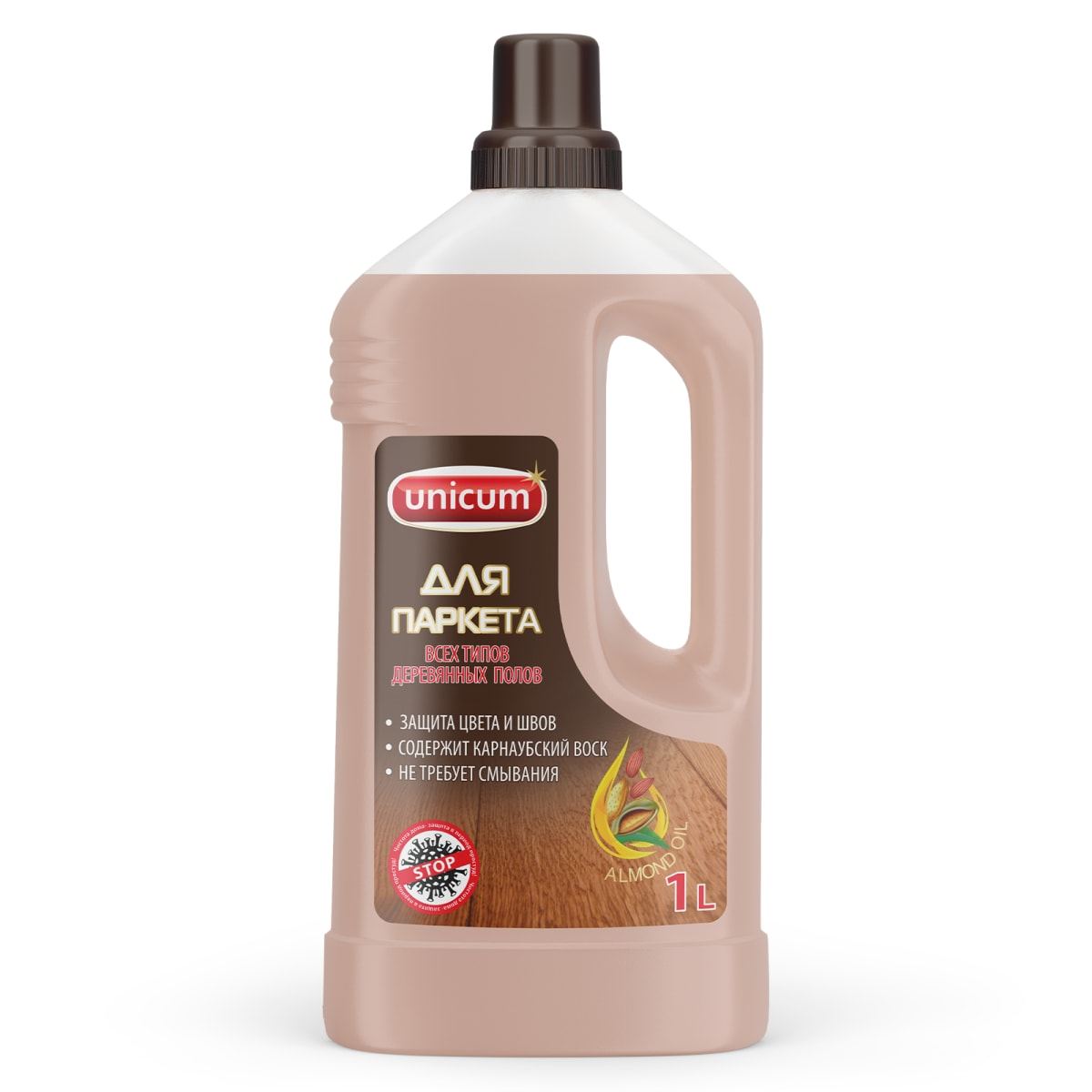 Средство для мытья паркета Unicum 1 л