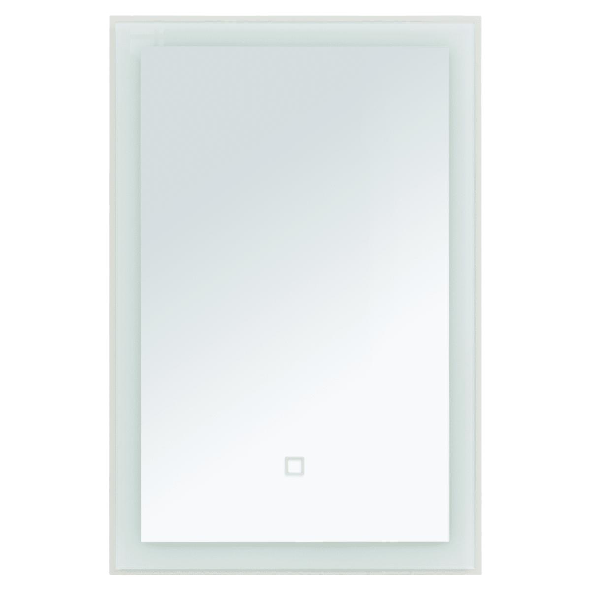Зеркало «Монро» с подсветкой 55x80 см цвет бежевый матовый