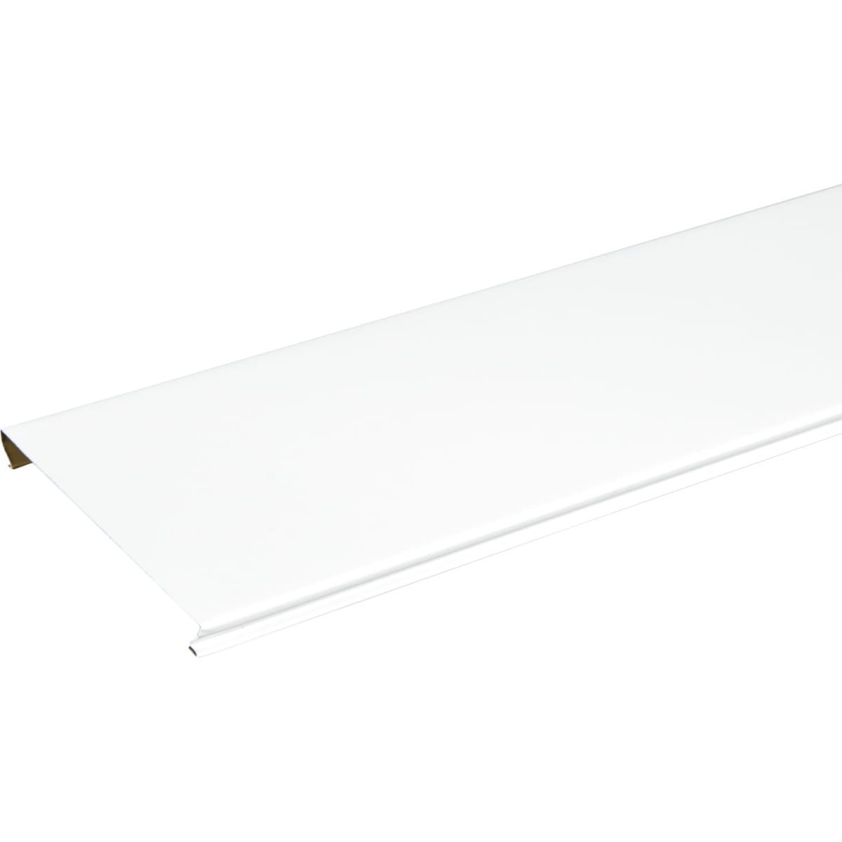 Набор реек «Базис» 3x0.2 м цвет белый матовый 2 шт.
