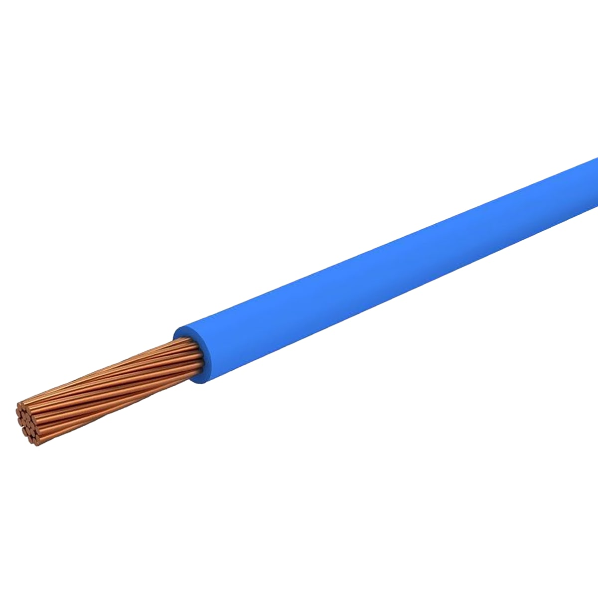 Провод Ореол ПуГВ 1x2.5, на отрез, цвет синий