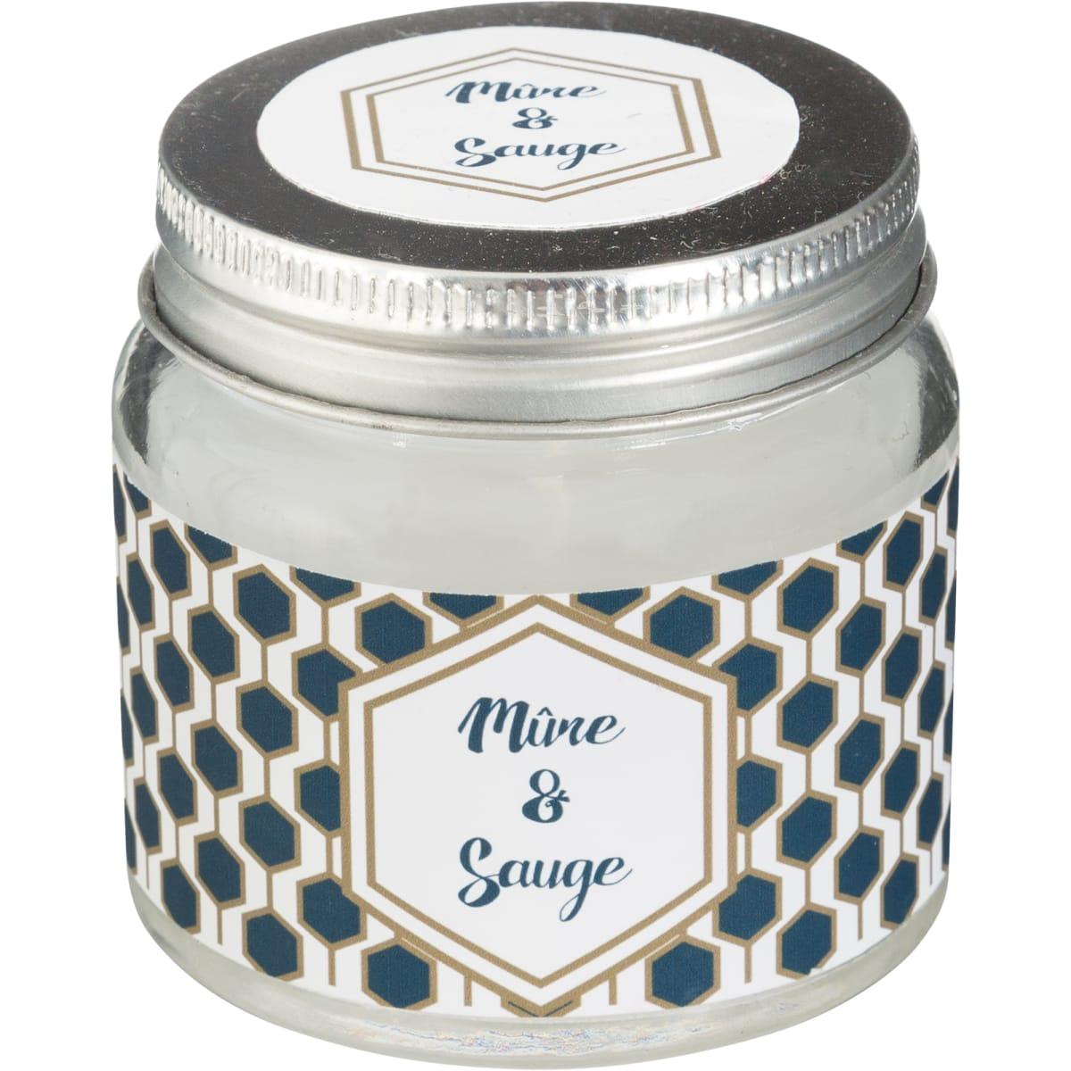 Свеча ароматизированная в банке «Ягода»