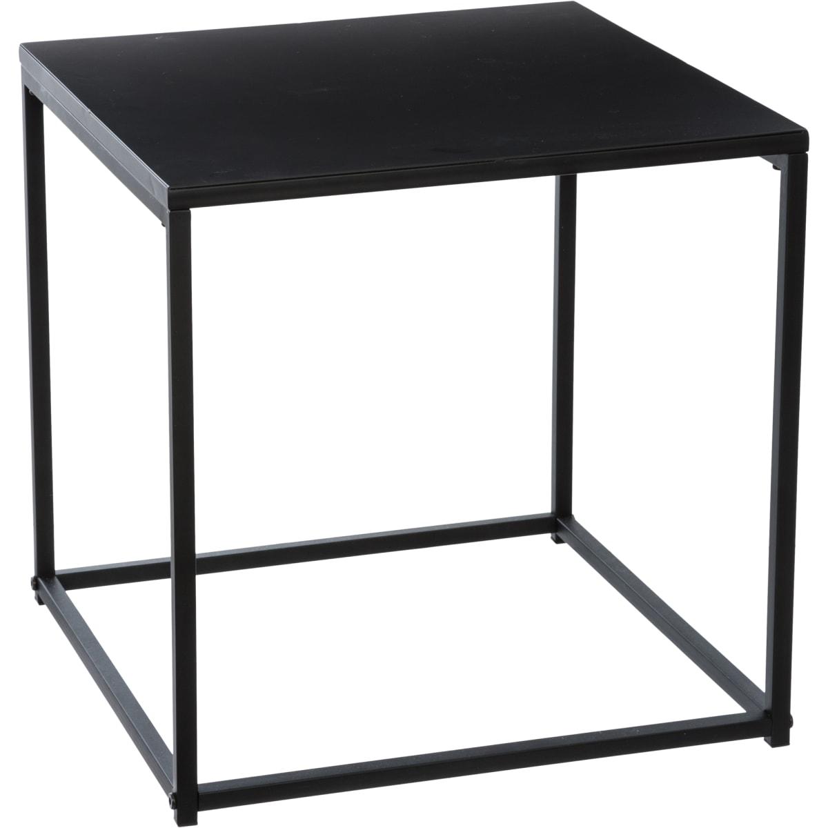 Стол кофейный «Gota» 40х40 см, металл, цвет черный