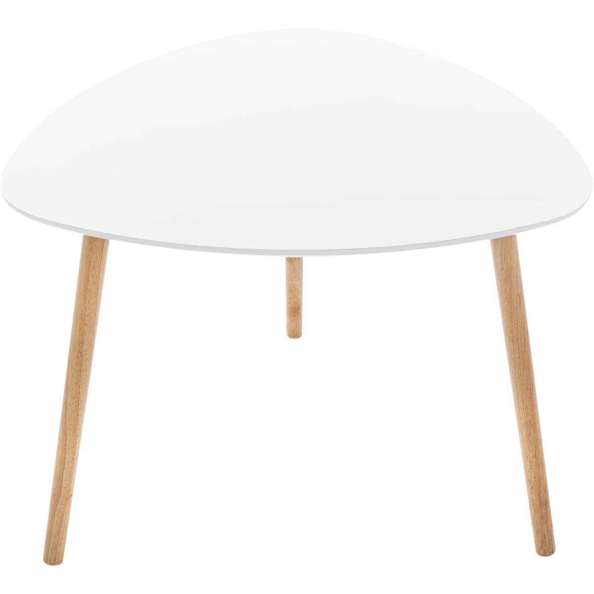 Стол кофейный «Mustard» МДФ цвет белый 60х60х45 см