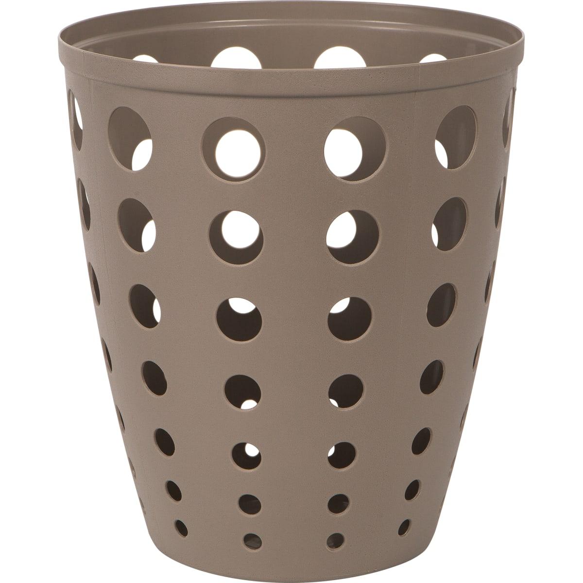 Контейнер для мусора «Евро» 13.5 л цвет коричневый
