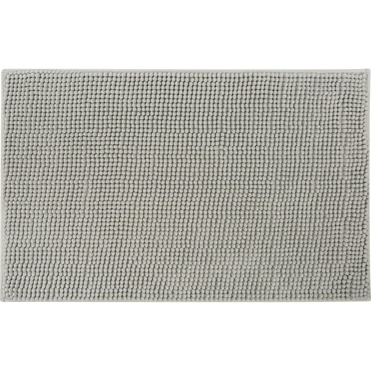 Коврик для ванной комнаты Merci 45x70 см цвет серый