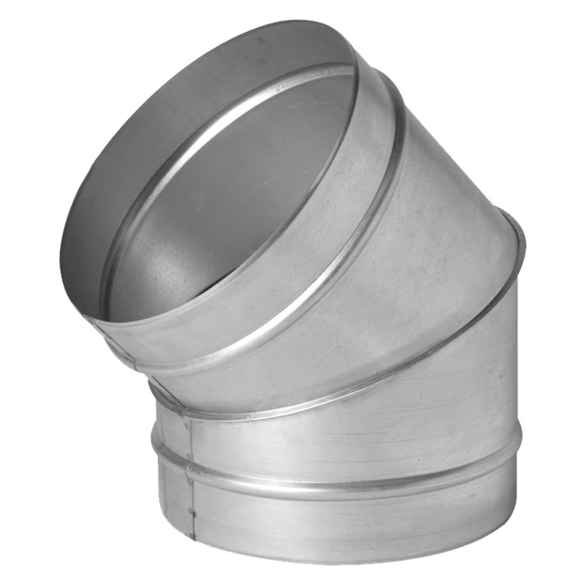 Отвод 45° без уплотнителя Ø100 мм