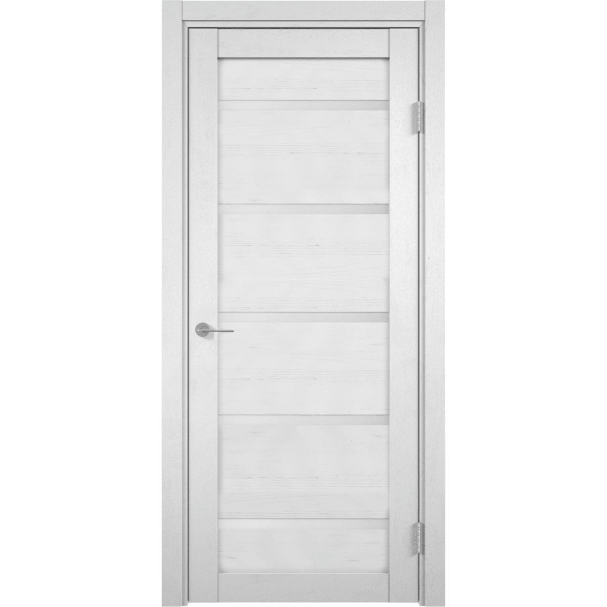 Дверь межкомнатная остекленная Бавария 80x200 см сосна андерсен